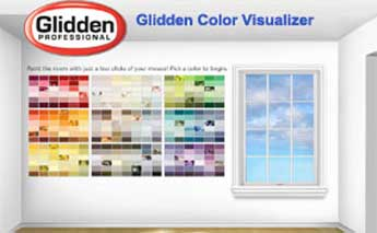 Glidden Paints Color Visualizer