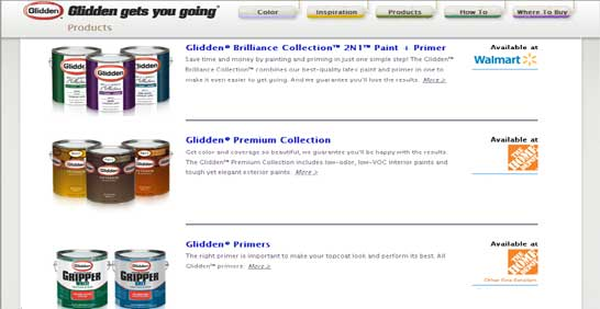 Glidden Exterior Paint and Products