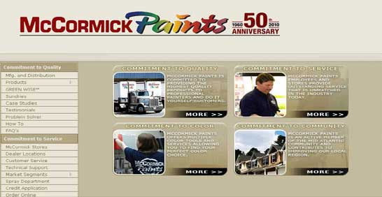 McCormick Exterior Painting Products