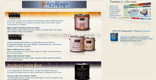 Pittsburg Exterior Paints