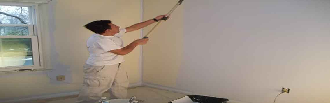 Painting Rolling a Wall