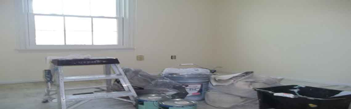Interior Painting Small Staging Area