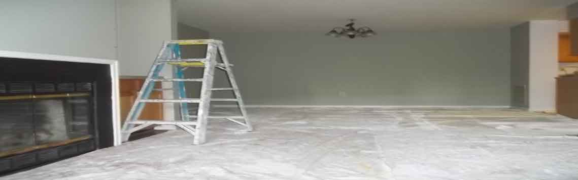 Standard Floor Protection for Small Interior Project in Alexandria