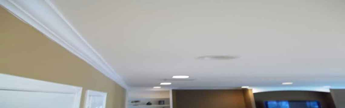 Finished Ceiling after removal of Stucco